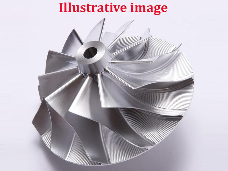 Kompressorrad Billet AVD6552-5.08