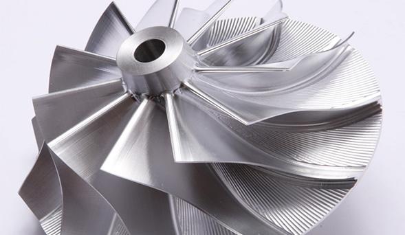 Compresoras especial, hecha de aluminio forjado