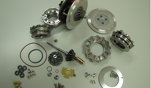 Todas las nuevas piezas de turbo