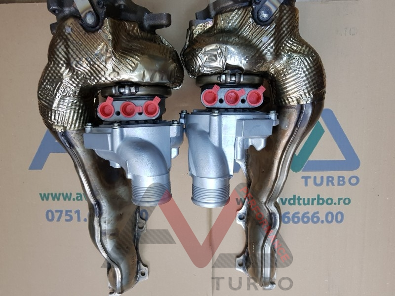 JH5 IT Dual ball bearing turbos for 4.0TFS