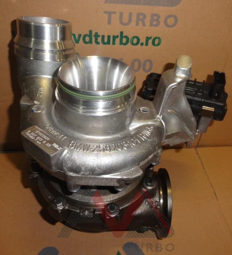 Bmw X6m Turbo Upgrade: New Turbocharger Garrett GTB2260V 11658507613