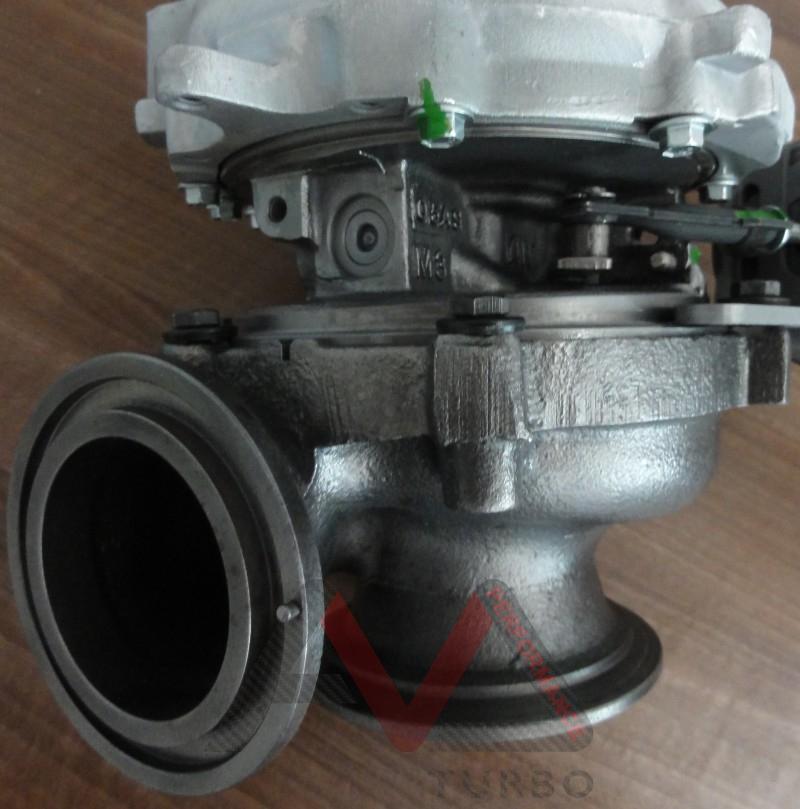 Bmw X6m Turbo Upgrade: GTB2265VKLR In Bmw Exhaust Housing