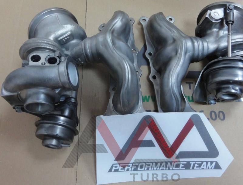 335i N54 Hybrid Turbos Set For 450hp