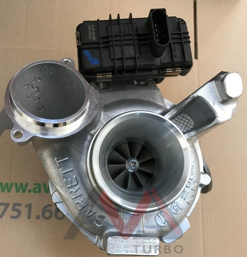 Bmw X6m Turbo Upgrade: Garrett Turbocharger For BMW 3.0D 190kw (258hp)