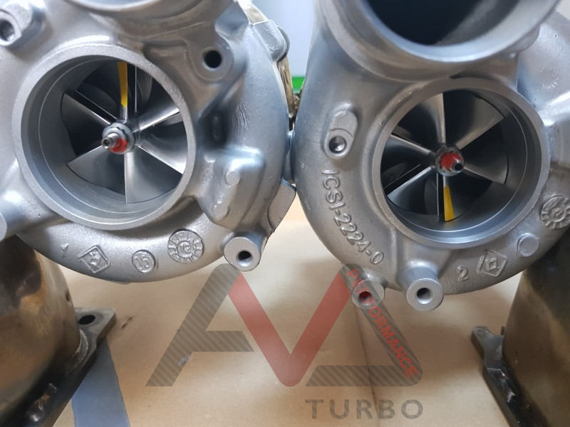 JH5 IT Dual ball bearing turbos for 4.0TFSI
