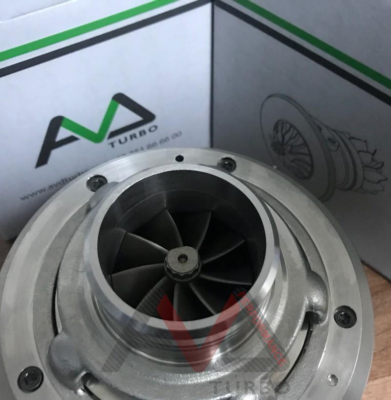 GTB2260VK CHRA + VNT  - Ultra light Turbine wheel + Billet Compressor wheel GEN II