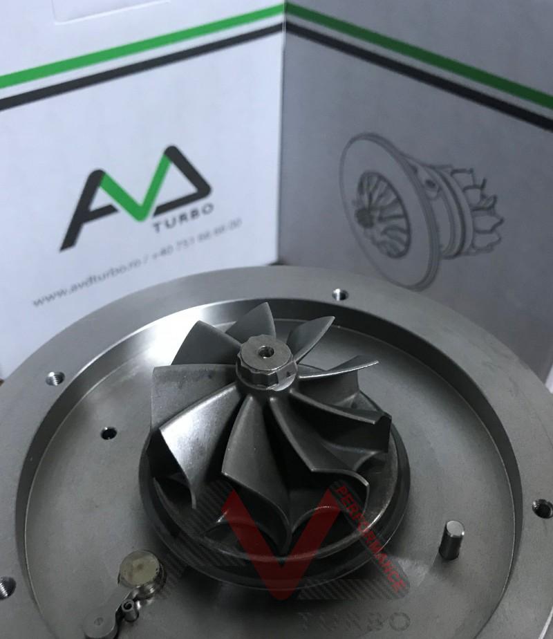 GTB2260VK CHRA - Ultra light Turbine wheel + Billet Compressor wheel GEN I 6+6