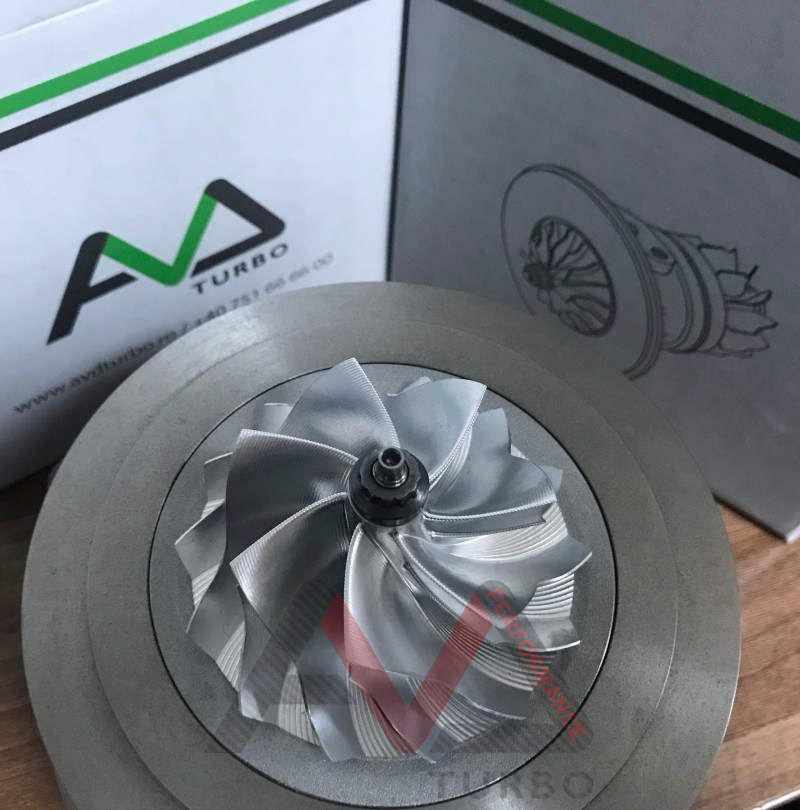 GTB2565VK CHRA + VNT  - Ultra light Turbine wheel + Billet Compressor wheel GEN II