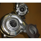 Hybrid turbos for Bmw 535d E60 - 450hp