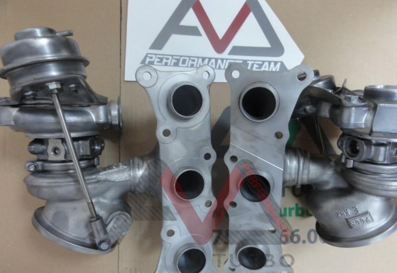 Set turbine hibride pentru 335i N54 pentru 450cp